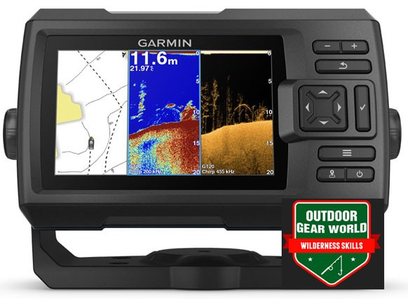 Garmin Striker Plus fishfinder 5cv with Transducer Review
