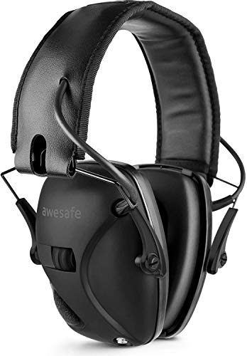 Awesafe Electronic Shooting Ear Muff Protector for Noise Reduction
