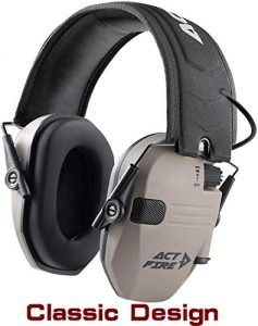 ACTFIRE Shooting Electronic Ear Protection