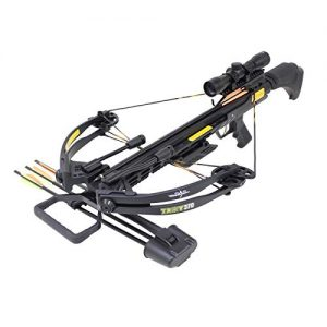 SAS Troy 370 Compound Crossbow 4x32 Scope Package
