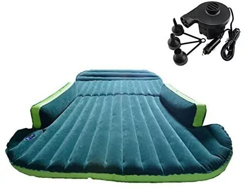 Mobile Inflation Travel Thicker Back Seat Cushion Air Bed for SUV