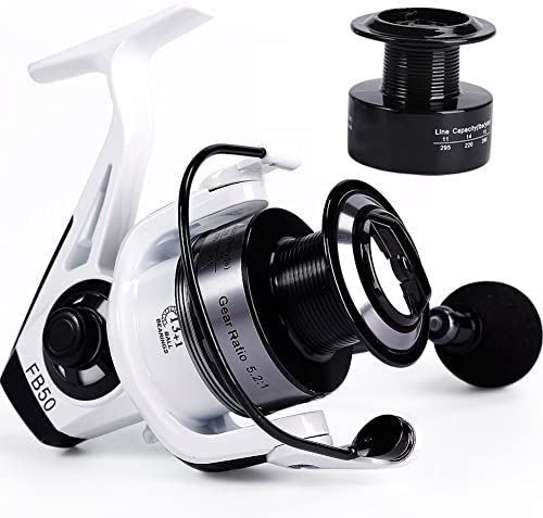 Spinning Fishing Reel with Powerful Carbon Fiber Drag