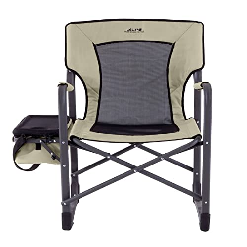 BrylaneHome Alps Cooler Camp Chair