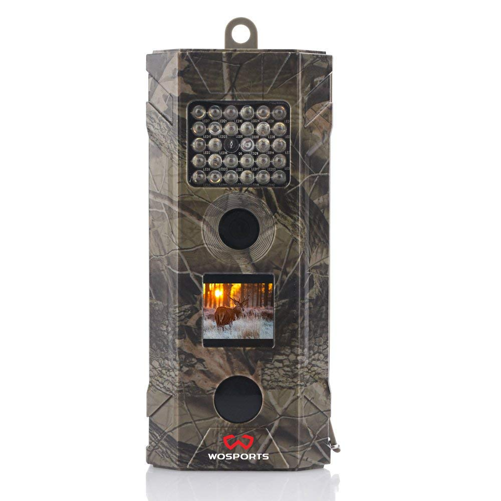 Wosports 1080P Upgraded Trail Camera