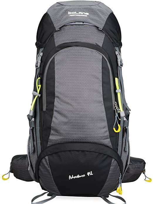BOLANG Waterproof Pack Hiking Daypack with Internal Frame