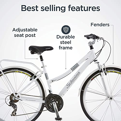 Schwinn Discover Hybrid Bicycle for women