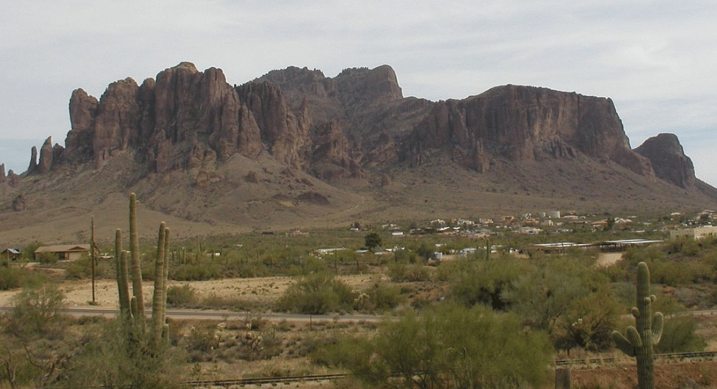 Superstition Mountains, Mesa, Arizona