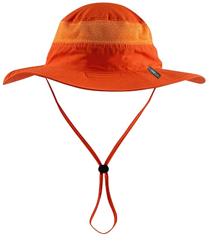 Camo Coll Camouflage Outdoor Sun Cap Mesh Boonie Hat