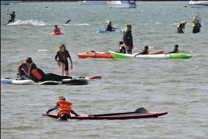 Types of Standup Paddleboarding
