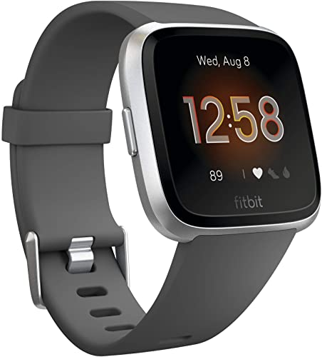 Fitbit Lite Smartwatch with Silver Aluminum for Travelers
