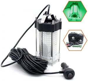 Jiawill LED Underwater Fishing Light with 10M cable